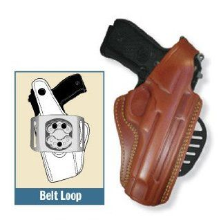 Gould & Goodrich 807 195 Paddle Holster, Chestnut, Right Hand   1911 Style, 4.75 5in  Gun Holsters  Sports & Outdoors