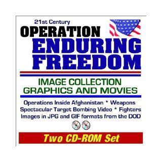 21st Century Operation Enduring Freedom Image Collection Graphics and Movies Operations Inside Afghanistan, Weapons, Spectacular Target Bombing Video, Fighters, DOD Images in JPG and GIF Formats (Two CD ROM Set) Department of Defense 9781592480579 Books