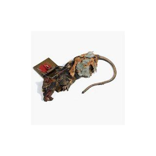 Animated Dead Rat in Wood Trap Halloween Prop: Home Improvement