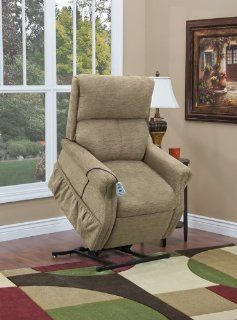 Med lift 1175 EK 1100 Series Two Way Reclining Lift Chair Encounter Khaki, Khaki: Health & Personal Care