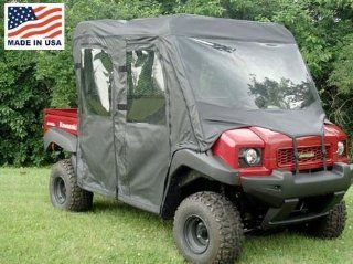 GCL UTV Kawasaki Mule 4000/4010 Trans Full Cab Enclosure with Vinyl Windshield. KAW40T FCE: Automotive