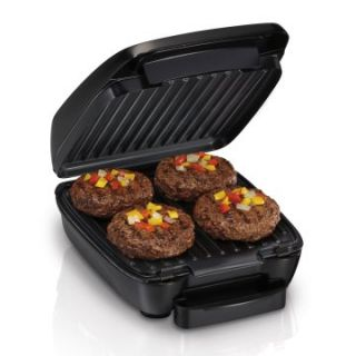 Hamilton Beach 25357 60 sq. in. Indoor Grill with Removable Grids