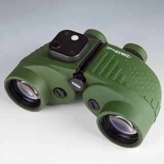 Zhumell 7x50mm Marine Binoculars with Compass and Reticle   Binoculars