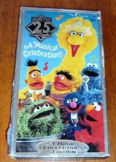 Sesame Street 25 wonderful Years Musical Celebration 1 Hour Collectors Edition Movies & TV