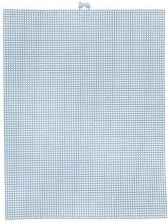 "Plastic Canvas 7 Count 10""X13"" Stoneware Blue"