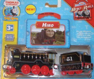 Thomas the Tank Engine Take Along Hiro Die Cast Engine: Toys & Games
