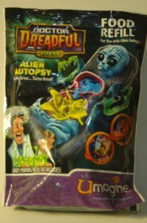 Dr. Dreadful Alien Autopsy Food Refill : Toys And Games : Sports & Outdoors