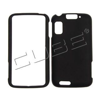 For Motorola Atrix 4G MB860 Case Cover _ Black Rubberized LHN01: Cell Phones & Accessories