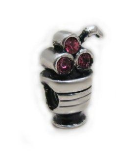 "Highest Quality Authentic EvesErose ""Ice Cream Sundae"" Charm Bead Fits Authentic Pandora Charms, EvesErose, Chamilia, European Bracelet & Necklace: Jewelry"