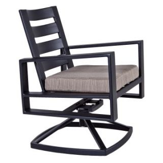 O.W. Lee Gios Swivel Rocker Dining Chair
