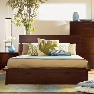 Hiro Storage Platform Bed Set   Bedroom Sets
