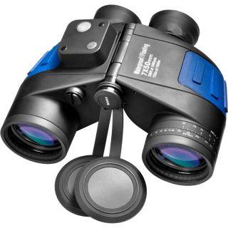 Barska 7x50mm Waterproof Floating Binocular with Compass and Rangefinder Reticle   Binoculars