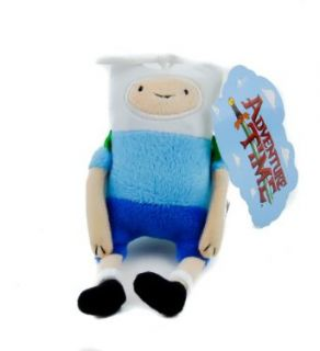Finn from Adventure Time Plush Keychain Cartoon Network Novelty Keychains Clothing