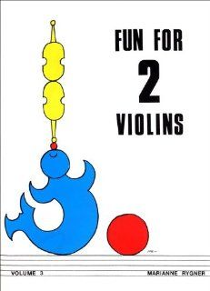 Alfred Fun for 2 Violins, Volume 3 Book Musical Instruments