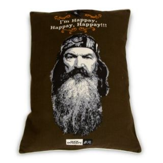 Duck Dynasty   Phil   Character Quote Happy Pet Bed 27 x 36 Softies Brown   Dog Beds