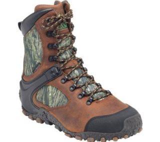 """Men's Rocky� 8"""" Stalker� 600g Thinsulate� Insulation Waterproof 7947 Boots, BRN/MOSSY OAK, 11.5 Shoes"""