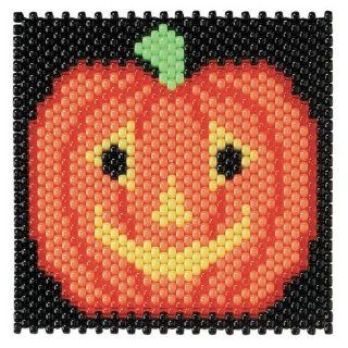 Herrschners Jack O Lantern Beaded Banner Kit   Childrens Party Banners