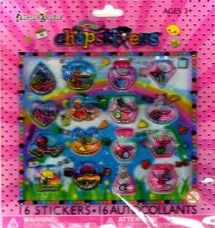 CHOPSTIXERS FASHION ANGELS STICKY ART BIG SMILES HAPPY FRIENDS (16 STICKERS): FASHION ANGELS: Books