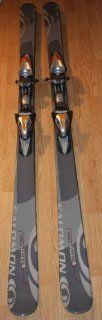 skis 170cm Salomon Versa 5 skis + Railfex Tyrolia bindings NEW  All Mountain Skis  Sports & Outdoors