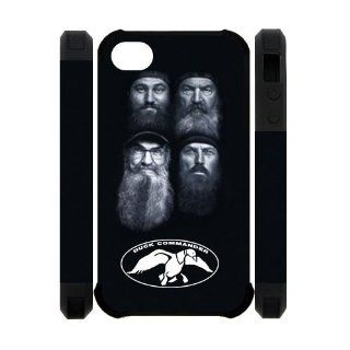 Duck Call Duck Dynasty iPhone 4 4S Case Duck Dynasty iPhone 4 Plastic Cover 3D: Electronics