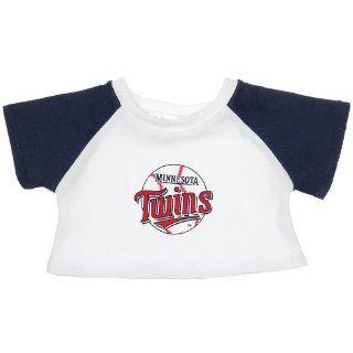 Build a Bear Workshop, Minnesota Twins™ Raglan Tee II Teddy Bear Sports Clothing Toys & Games