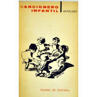 Cancionero Infantil Antologia Temas de Espana Bonifacio Gil Books