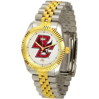 """Boston College Golden Eagles NCAA """"Executive"""" Mens Watch  Sports Fan Watches  Sports & Outdoors"""