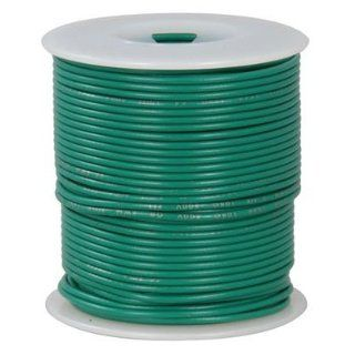 Ul1007 1569 28 Awg Stranded Hook Up Wire 100 Feet Green Electronic Component Wire Industrial & Scientific
