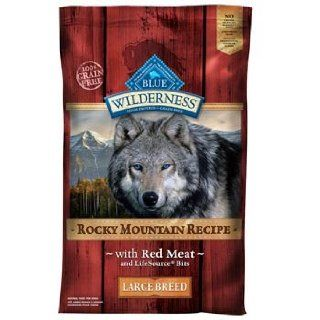 Blue Rocky Mountain Large Breed Red Meat Dog Food  Dry Pet Food