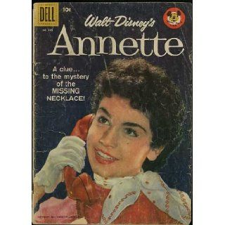 """Walt Disney's Annette"" (Dell Four Color comic #905) May 1958: Judy Nugent, Tim Considine, Roberta Shore, Annette Funicello, Bonnie Fields: Books"