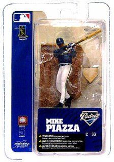 McFarlane Toys MLB 3 Inch Sports Picks Series 5 Mini Figure Mike Piazza (San Diego Padres) Toys & Games