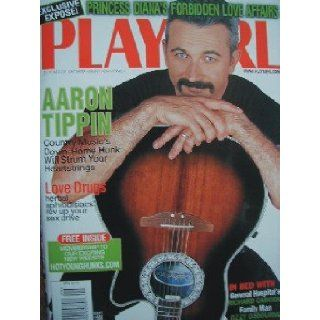 Playgirl Magazine September 1998 Aaron Tippin Country Music's hunk; In Bed with 'General Hospitals' Richard Cascioli!: Books