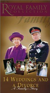 Royal Family Collection   14 Weddings & A Divorce [VHS] Royal Family Collection Movies & TV