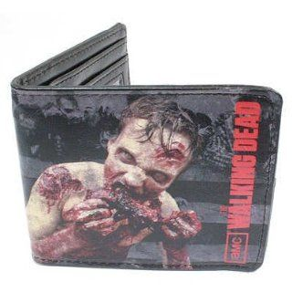 (4x4) The Walking Dead   Zombie Eating Red Wallet   Prints