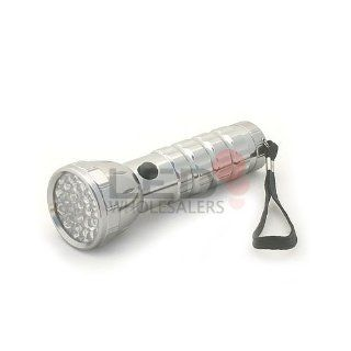 Red Green White 29 LED Multi Color Flashlight Handheld Signal Torch Light 7316, #941   Basic Handheld Flashlights