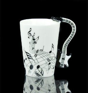 Black Guitar Electric Bass Music Note Coffee Cup Mug Christmas Gift  Other Products