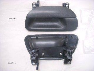 PT Auto Warehouse FO 3503A T2   Tailgate Handle, Textured Black   without Keyhole: Automotive