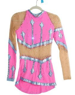 MM Designs Rhythmic Gymnastics Competition Leotard : Sports & Outdoors
