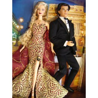 Barbie Loves Pop Culture James Bond 007 Ken and Barbie Gift Set Toys & Games