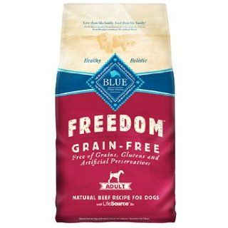 Blue Freedom Grain Free Beef Dry Dog Food 24lb  Dry Pet Food