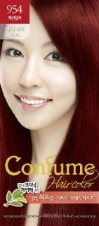 Confume Herbal Hair Color   954 Very Very Red : Chemical Hair Dyes : Beauty