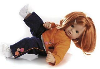 Gotz 16.5 Inch, Maxy Muffin   Red Hair: Toys & Games