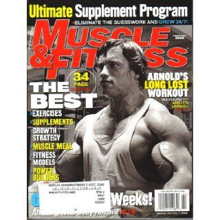 Joe Weider's Muscle & Fitness Magazine (February 2006, Vol. 67, No. 2) Books