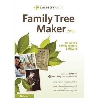 Family Tree Maker 2010 Deluxe Software Software