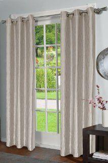 Jaclyn Love Clarke Curtain Panel, Viridian Grey   Window Treatment Panels