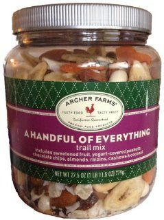 Archer Farms A Handful of Everything Trail Mix 27 oz : Archer Farms Nuts : Grocery & Gourmet Food
