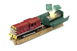 Thomas Friends Trackmaster Salty's Fish Delivery: Toys & Games
