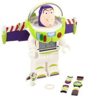 LEGO Kids' 9004346 Toy Story Buzz Lightyear Two Piece Assortment Clock and Watch Watches