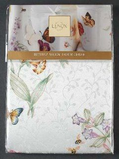 "Lenox China Butterfly Meadow Cloth Shower Curtain 70"" X 72"", Fine China Dinnerware"