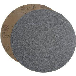 "3M 431Q 60 Grit, 12"" Diameter Silicon Carbide Wetordry Paper Disc, C Weight (50 Pack) Psa Discs Industrial & Scientific"